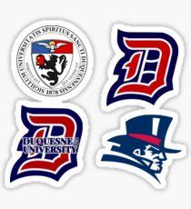 Duquesne sticker set 2 Sticker