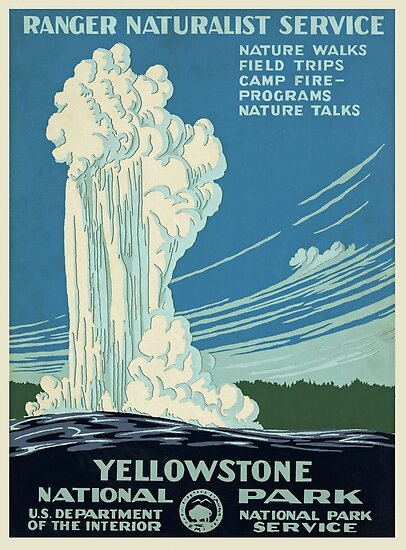 Yellowstone National Park Poster by Victorious2