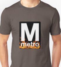 DC Metro on Fire Logo T-Shirt