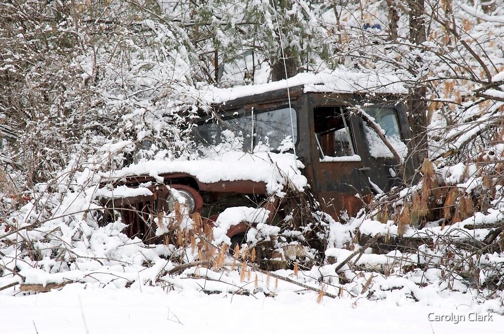 My Dad's Jeep 2 by Carolyn Clark