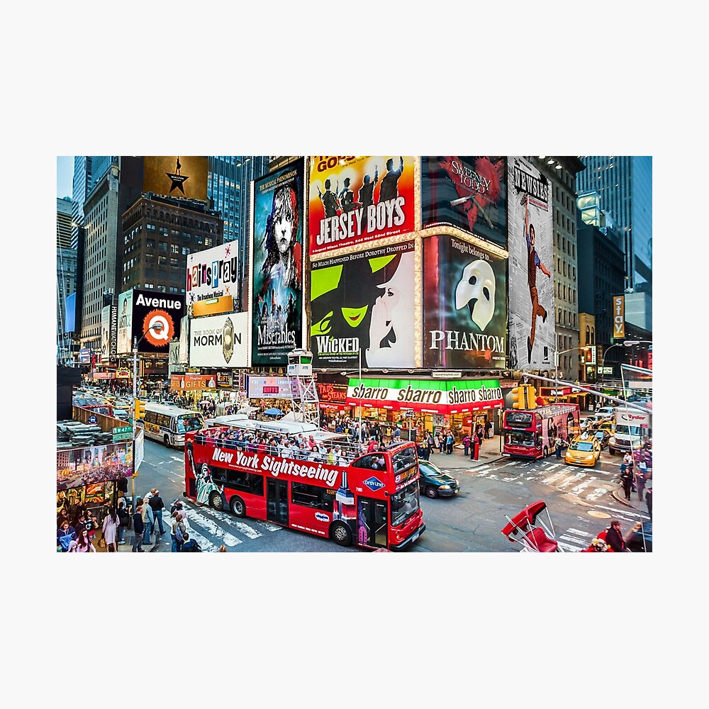 Times Square II Special Edition II Photographic Print
