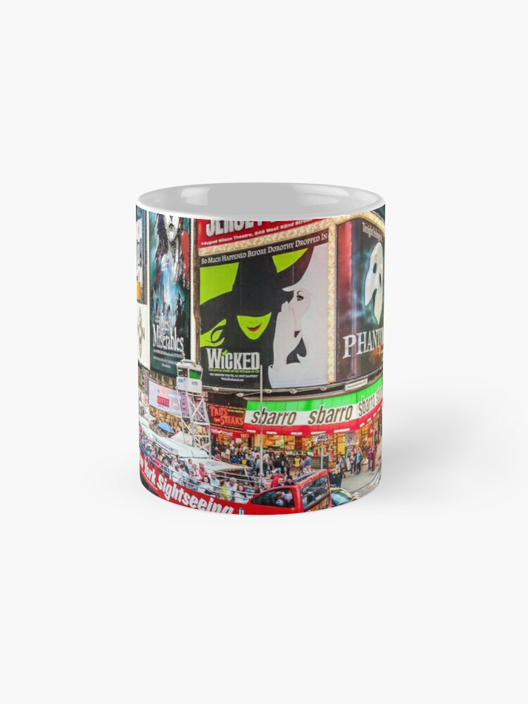 Alternate view of Times Square II Special Edition II Mug