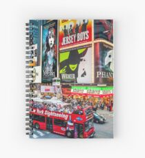 Times Square II Special Edition II Spiral Notebook