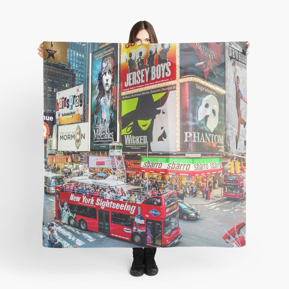 Times Square II Special Edition II Scarf