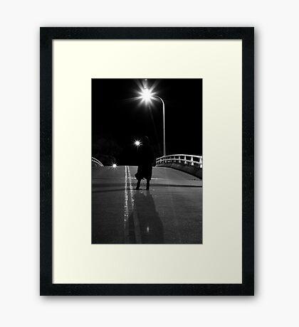 Silhouette #1 Framed Print