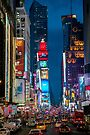 Times Square by Raymond Warren