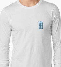 Tardis Minimalist  Long Sleeve T-Shirt