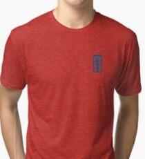 Tardis Minimalist  Tri-blend T-Shirt