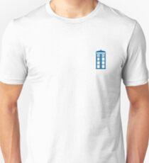 Tardis Minimalist  Unisex T-Shirt