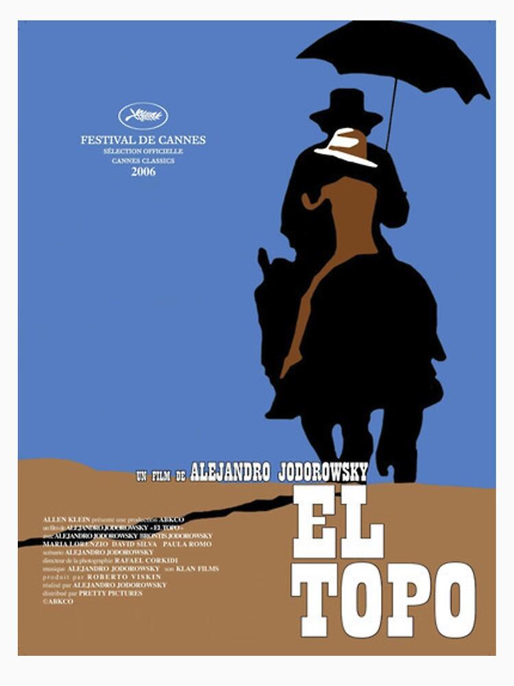 EL Topo Klassisches Filmplakat von lofcuk