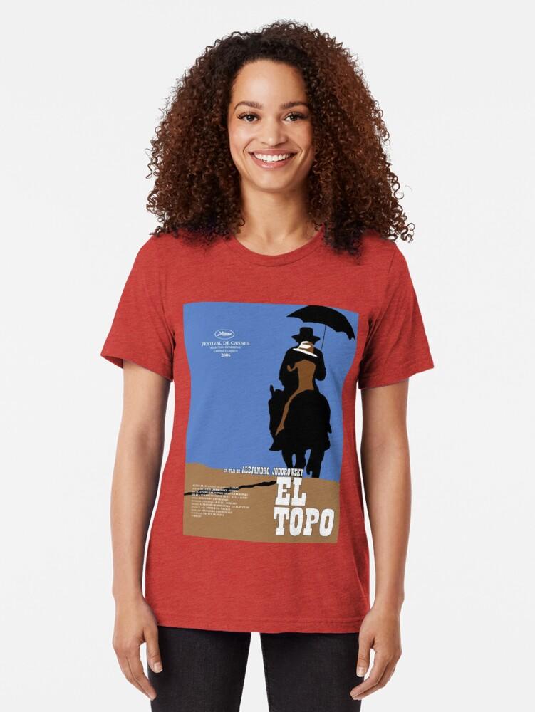 Alternative Ansicht von EL Topo Klassisches Filmplakat Vintage T-Shirt
