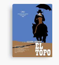 El Topo Classic Movie Poster Canvas Print