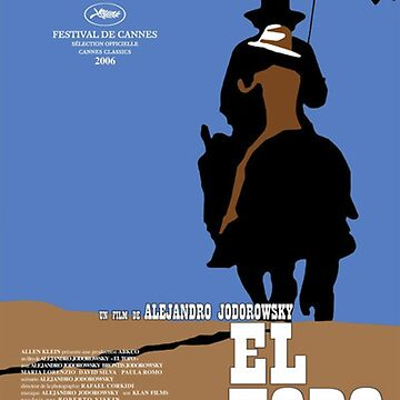 El Topo Classic Movie Poster by lofcuk
