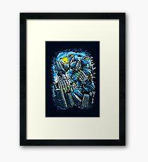 Robotic Mayhem Framed Print