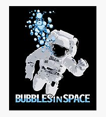 Bubbles In Space - Nasa Hoax - Flat Earth - Space Bubbles Photographic Print