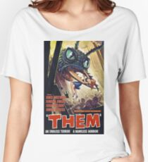 SCI-FI THEM BUGS ARE EATING MY GIRL FRIEND MOVIE Women's Relaxed Fit T-Shirt