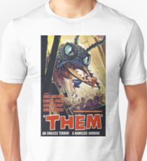 SCI-FI THEM BUGS ARE EATING MY GIRL FRIEND MOVIE Unisex T-Shirt