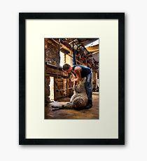 The Shearer Framed Print