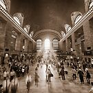 Grand Central Sepia by Ray Warren