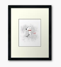 Brian Griffin the Dog Framed Print