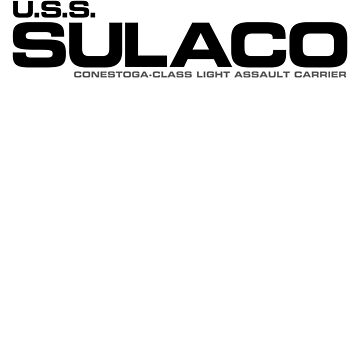 USS Sulaco Conestoga Class Light Assault Carrier crew wear by driph