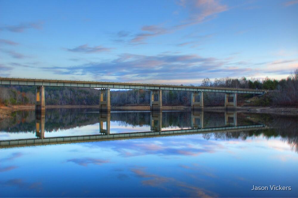 Reflection on Grayson Lake by Jason Vickers