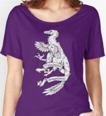Heraldic Velociraptor Women's Relaxed Fit T-Shirt