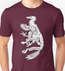 Heraldic Velociraptor Unisex T-Shirt