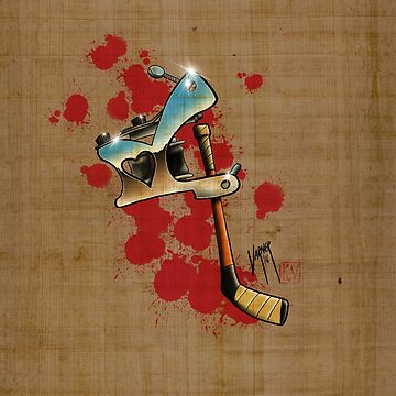 Tattoos and Hockey by Steve-Varner