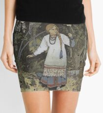 Vasilisa the Beautiful - Tales of Baba Yaga Mini Skirt