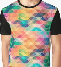 Abstract Full of Colors Graphic T-Shirt