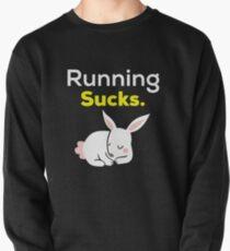 Laufen saugt mit schlafendem Häschen. Sweatshirt