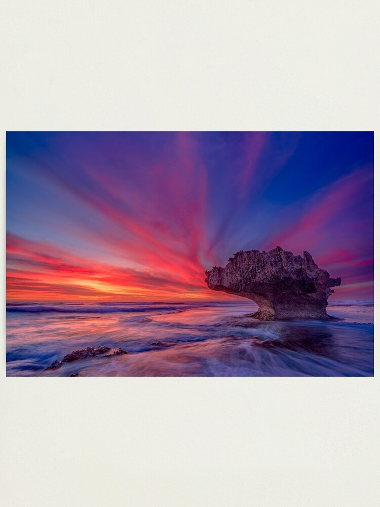 Alternate view of Cape Naturaliste, Western Australia Photographic Print