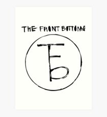 Das Logo der Frontbeine Kunstdruck