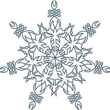 Celtic Snowflake by joemang1969
