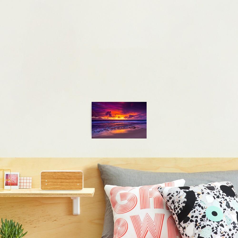 North Beach Sunset, Western Australia Photographic Print