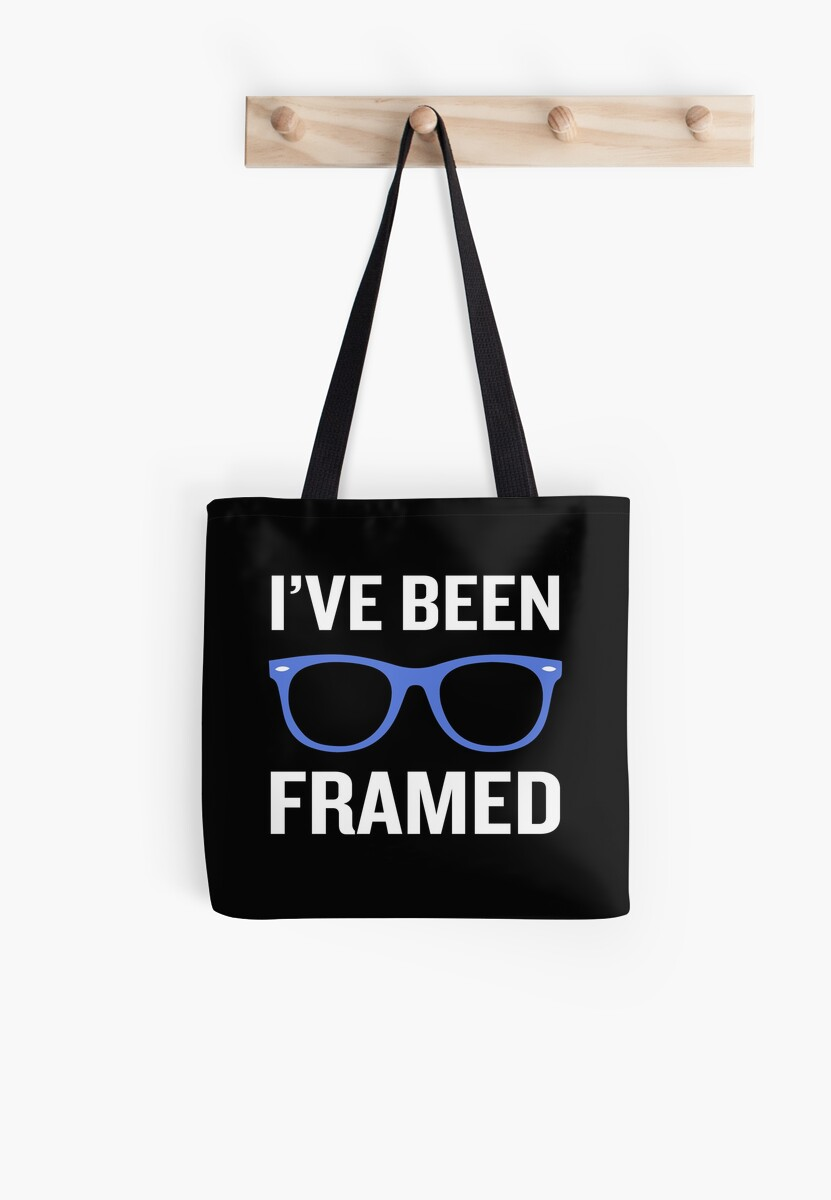 I\'ve Been Framed Funny Pun Optometrist Nerd Geek\