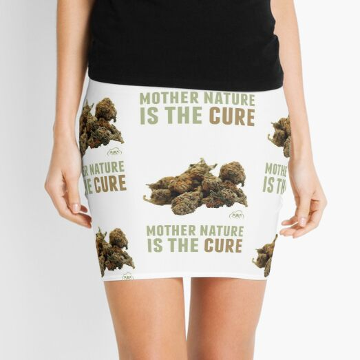 Mother Nature is the Cure Mini Skirt