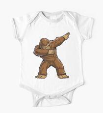 Bigfoot Sasquatch Dabbing T Shirt Funny Dab Monster Gifts One Piece - Short Sleeve