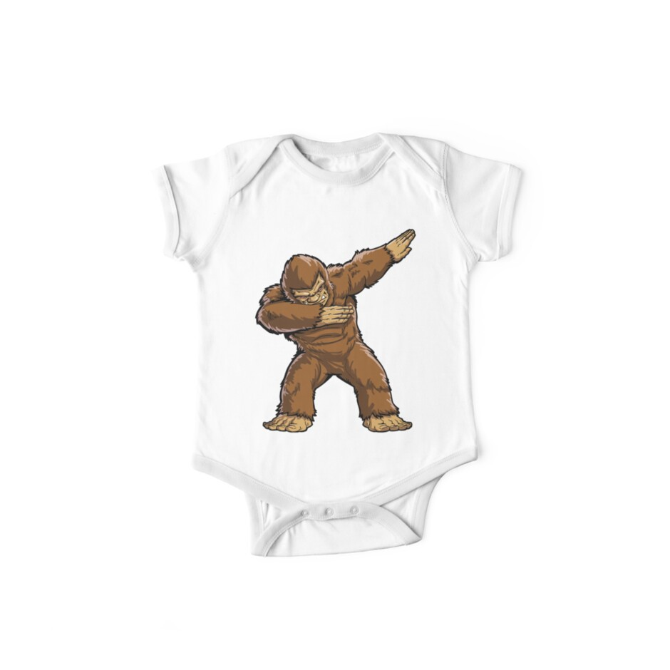 87930da64 Bigfoot Sasquatch Dabbing T Shirt Funny Dab Monster Gifts