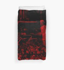 Michael Jordan - Celebrity (Sports Life) Duvet Cover