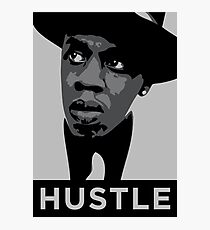 Hustle Photographic Print
