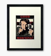 ROBBIN W Framed Print