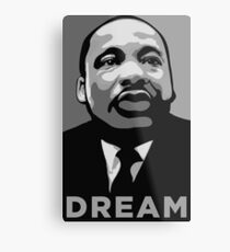 MLK: DREAM Metal Print