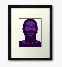 Teddy Pendergrass Framed Print