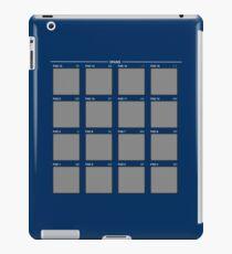 Drum Machine: Blue Variation iPad Case/Skin