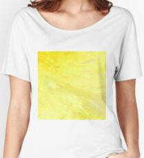 Abstract Yellow Sun by Robert S. Lee Women's Relaxed Fit T-Shirt