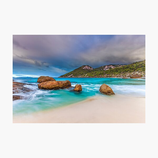 Secluded Beach Photographic Print