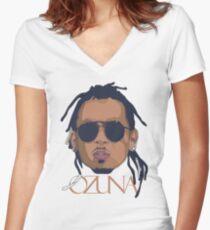 ozuna - trap latino doisena Women's Fitted V-Neck T-Shirt