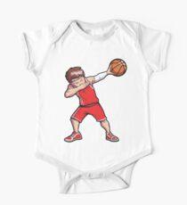 Dabbing Basketball T Shirt Boy Dab Dance T-shirt Gifts Men Kids Clothes